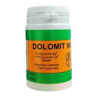 Dolomit VIS 32 mg + 54 mg, 72 tabletki - zdjęcie produktu
