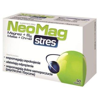 NeoMag Stres, 50 tabletek - zdjęcie produktu