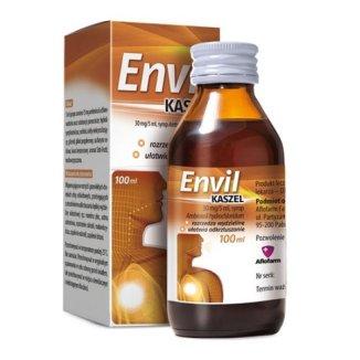 Envil kaszel 30 mg/ 5 ml, syrop, 100 ml - zdjęcie produktu