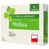 Zioła w tabletkach Melisa, 90 tabletek - miniaturka zdjęcia produktu