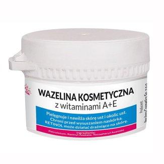 New Anna Cosmetics, wazelina kosmetyczna z witaminami A+E, 50 g - zdjęcie produktu