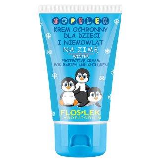 Flos-Lek Sopelek, krem ochronny dla dzieci i niemowląt na zimę, od 6 miesiąca, 50 ml - zdjęcie produktu