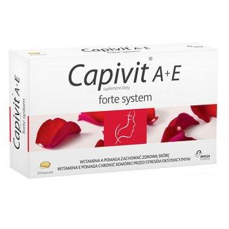 Capivit A + E Forte System, 30 kapsułek - zdjęcie produktu