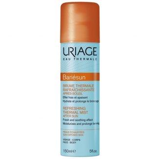 Uriage Bariesun, łagodząca mgiełka w sprayu po opalaniu, 150 ml - zdjęcie produktu