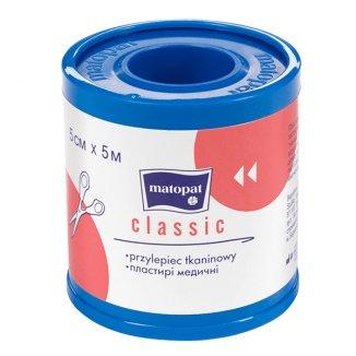 Przylepiec CLASSIC, z nakładką, 5 cm x 5m, 1 sztuka - zdjęcie produktu