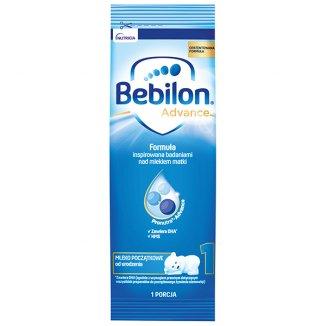 Bebilon Advance 1, mleko początkowe, od urodzenia, 27,2 g x 1 saszetka - zdjęcie produktu
