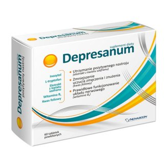 Depresanum, 60 tabletek powlekanych - zdjęcie produktu