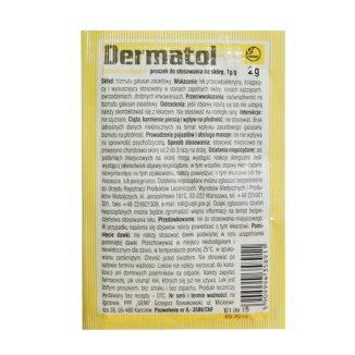 Dermatol Gemi 1 g/ g, proszek do stosowania na skórę, 2 g - zdjęcie produktu