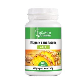 BigGarden Błonnik z Ananasem + CLA, 100 tabletek - zdjęcie produktu