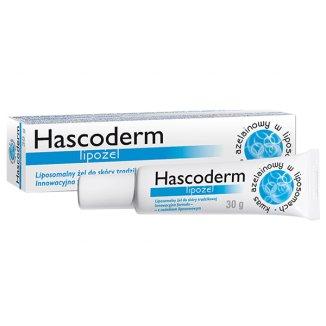 Hascoderm Lipożel, liposomalny żel do skóry trądzikowej, 30 g - zdjęcie produktu