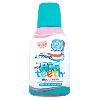 Aquafresh, płyn do płukania jamy ustnej Big Teeth, 300 ml - zdjęcie produktu