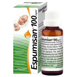 Espumisan 100 mg/ ml, krople doustne, emulsja, 30 ml - zdjęcie produktu