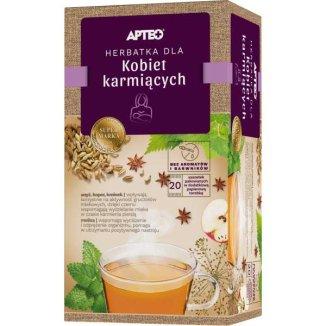 Apteo Herbatka dla kobiet karmiących, ziołowo-owocowa, 2 g x 20 saszetek - zdjęcie produktu