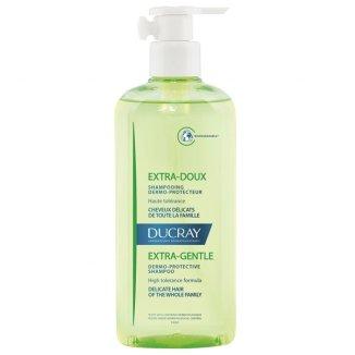 Ducray Extra Doux, szampon dermatologiczny do częstego stosowania, włosy delikatne, 400 ml - zdjęcie produktu