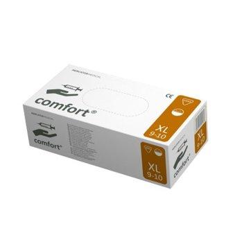 Comfort, rękawice lateksowe, niejałowe, pudrowane, rozmiar XL, 100 sztuk - zdjęcie produktu