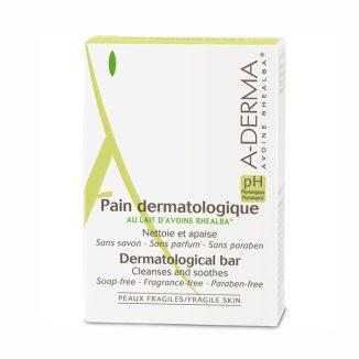 A-Derma, oczyszczająca kostka dermatologiczna do twarzy i ciała, 100 g - zdjęcie produktu