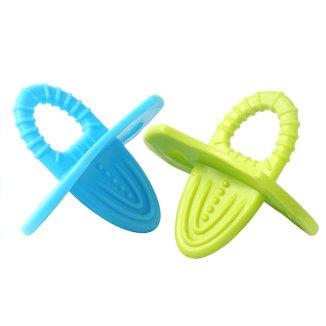 BabyOno, gryzak elastyczny, Pierwsze ząbki, 1009, 2 sztuki - zdjęcie produktu