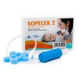 Aspirator do nosa SOPELEK 2 + 10 filtrów jednorazowych - miniaturka zdjęcia produktu