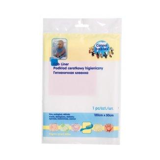 Canpol Babies, podkład ceratkowy higieniczny, 120 cm x 50 cm, 1 sztuka - zdjęcie produktu