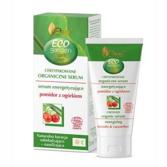 AVA Eco Garden, serum energetyzujące pomidor z ogórkiem, 30 ml - zdjęcie produktu