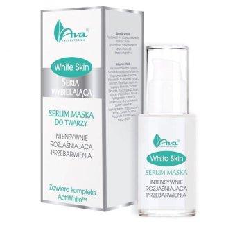 AVA White Skin, serum, maska do twarzy intensywnie rozjaśniająca przebarwienia, 30 ml - zdjęcie produktu