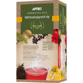 Apteo Herbatka dla odchudzających się, 2 g x 20 saszetek - zdjęcie produktu