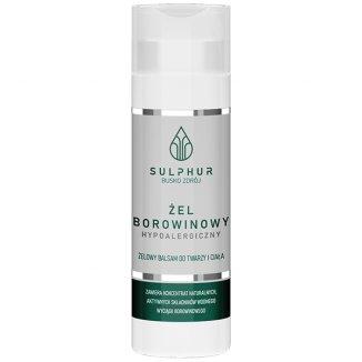 Sulphur Kuracja Borowinowa, żel borowinowy hypoalergiczny do ciała, 200 g - zdjęcie produktu