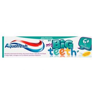 Aquafresh My Big Teeth, pasta do zębów dla dzieci od 6 lat, 50 ml - zdjęcie produktu