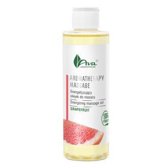AVA Aromatherapy massage, olejek energetyzujący do masażu, grejpfrut, 200 ml - zdjęcie produktu