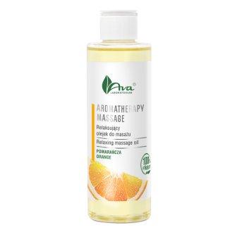 AVA Aromatherapy massage, olejek relaksujący do masażu, pomarańcza, 200 ml - zdjęcie produktu