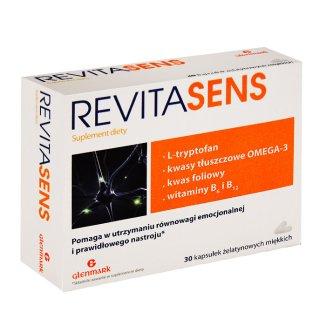 Revitasens, 30 kapsułek miękkich - zdjęcie produktu