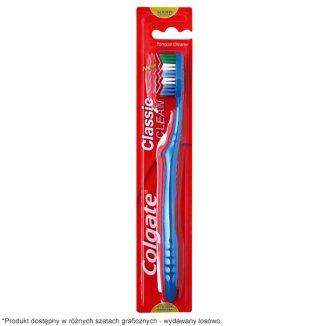 Colgate, szczoteczka do zębów, Classic Deep Clean, Hard, 1 sztuka - zdjęcie produktu