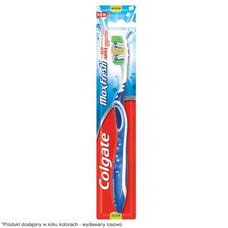 Colgate, szczoteczka do zębów, Max Fresh, Medium, 1 sztuka - zdjęcie produktu