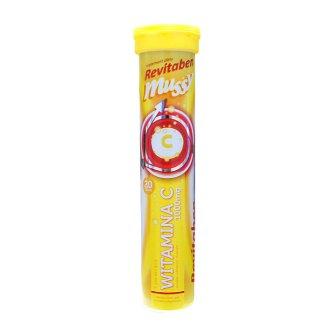 Revitaben Witamina C 1000 mg, 20 tabletek musujących - zdjęcie produktu