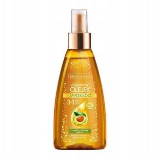Bielenda, drogocenny olejek awokado 3w1, ciało, twarz, włosy, 150 ml - zdjęcie produktu