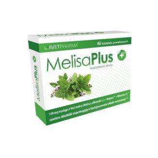 AvetPharma Melisa Plus, 40 tabletek - zdjęcie produktu