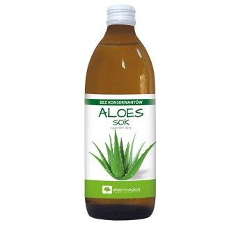 Alter Medica, sok z aloesu, 500 ml - zdjęcie produktu