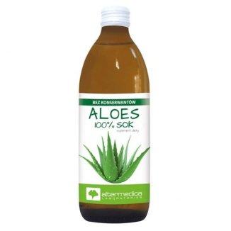 Alter Medica, sok z aloesu, 1000 ml - zdjęcie produktu