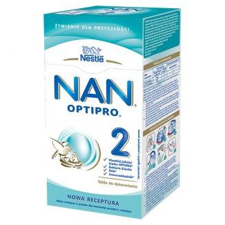 Nestle NAN Optipro 2, mleko następne dla niemowląt powyżej 6 miesiąca, 350 g - zdjęcie produktu