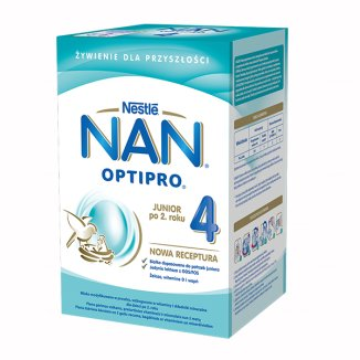 Nestle NAN Optipro 4, mleko modyfikowane Junior dla dzieci po 2 roku, 800 g - zdjęcie produktu