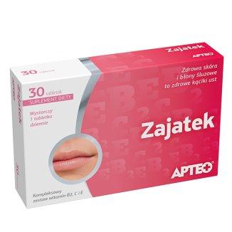 Apteo Zajatek,  30 tabletek - zdjęcie produktu