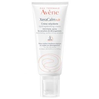 Avene XeraCalm A.D, krem uzupełniający lipidy do twarzy i ciała, skóra bardzo sucha, atopowa i swędząca, 200 ml - zdjęcie produktu