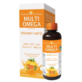 MultiOmega, smak owoców tropikalnych, 250 ml - zdjęcie produktu