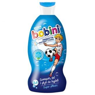 Bobini 3w1, szampon, żel i płyn do kąpieli, Super Piłkarz, 50 ml - zdjęcie produktu