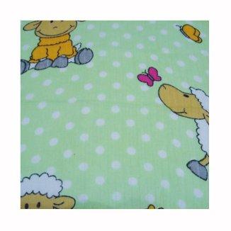 Weber, pielucha flanelowa (bawełniana) 175 g/ m2, kolorowa z ceratką, 50 x 60 cm, 1 sztuka - zdjęcie produktu