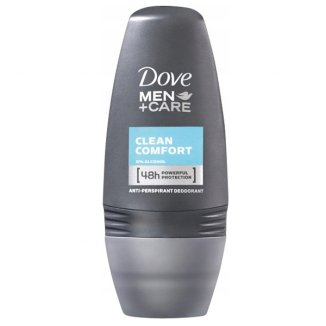 Dove, antyperspirant roll-on, Men + Care, 50 ml - zdjęcie produktu