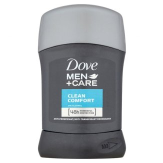 Dove, Men + Care, antyperspirant w sztyfcie, Clean Comfort, 50 ml - zdjęcie produktu