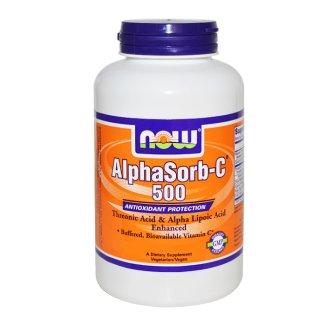 Now Foods, Alphasorb-C500, 90 kapsułek - zdjęcie produktu