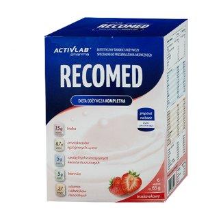 Activlab RecoMed, preparat odżywczy, proszek, smak truskawkowy, 65 g x 6 saszetek - zdjęcie produktu