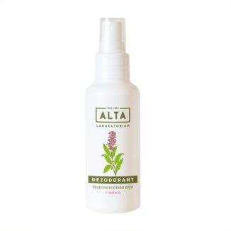 Alta, dezodorant przeciw poceniu stóp z szałwią, 100 ml - zdjęcie produktu